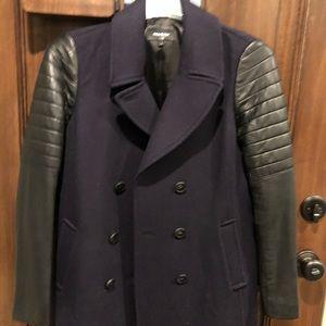 Mackage Montreal wool/leather Coat